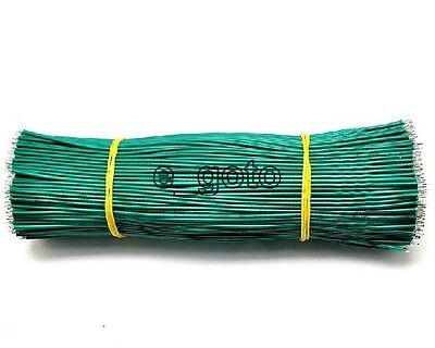 50pcs Green Tinning PE Wire PE Cable 150MM 15cm Jumper Wire Copper Wire