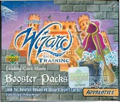 Wizard In Training 1St Edition - Factory Sealed Box - 24 Packs - Upper Deck