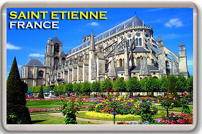 Saint Etienne France Fridge Magnet Souvenir Iman Nevera