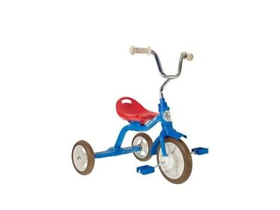 """Italtrike Classic 10"""" Super Touring Tricycle Kids Trike Colorama Red/blue@"""