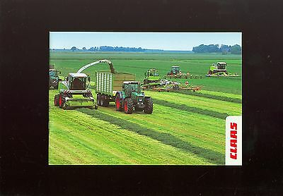 Claas Grass Machinery Sales Booklet
