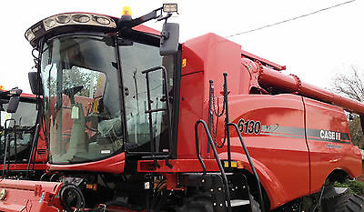 "Universal Combine Farm Tractor Mirror Super Size 9""x16"" great for Mac Don .."