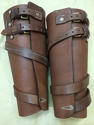 WWI Leather Leggings - ALL SIZES AVAILABLE (Reproduction)