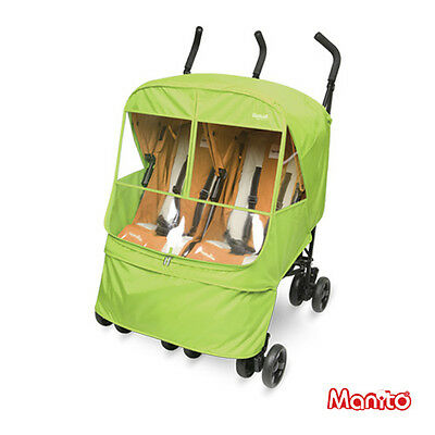 [Manito Elegance Alpha Twin Cover] Cover for Twin Baby Stroller and Pushchair