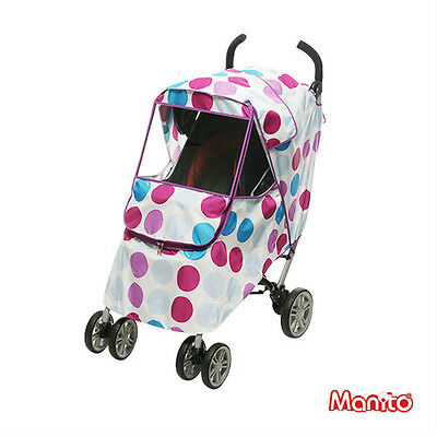 [Manito Harmony Cover] Cover for Baby Stroller and Pushchair, Rain Cover, Wind