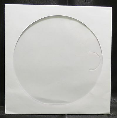 2000 Paper DVD CD CD-R  sleeves white with Window Flap envelop case #102177D