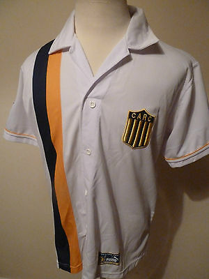 mens CARC ( rosario central ) argentina shirt - size 3 medium good condition
