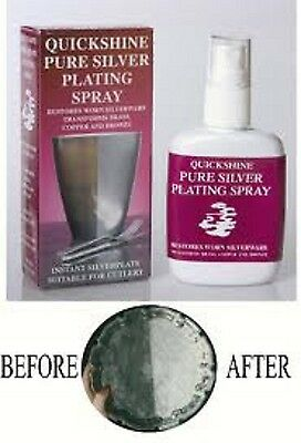 Silver Plating Spray - Silver Plates Most Metal Items In Minutes
