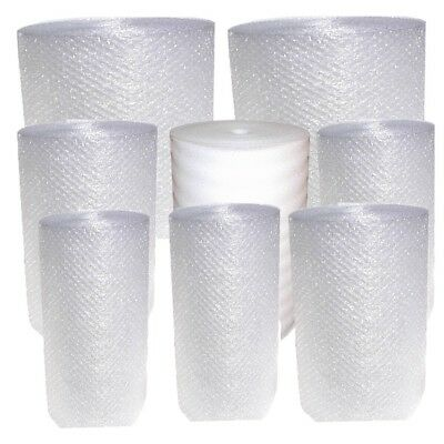 New small bubble Cushion Wrap rolls 3/16 bubbles 350-450 FT foam Moving supplies