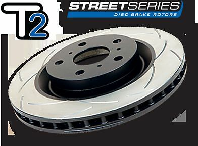DBA T2 Front Slotted Rotors x 2 Holden Commodore VT VU VX VY VZ 296mm DBA040S