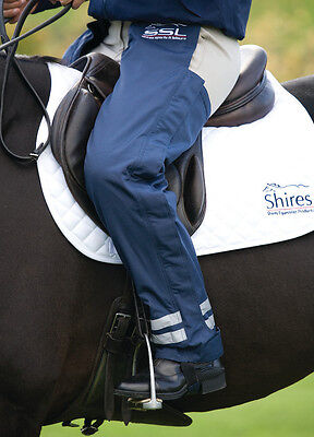 Shires Waterproof Full Length Chaps Navy, Winter Fleece Lined Ladies Chaps BN