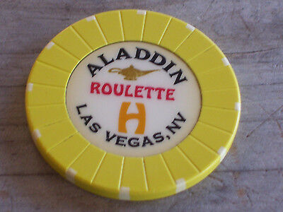 ROULETTE CHIP FROM THE ALADDIN CASINO, LAS VEGAS (yh)