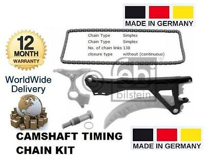FOR BMW 1 SERIES 1.6i 2004-2012 E81 E87 N45 NEW CAMSHAFT TIMING CHAIN KIT OE