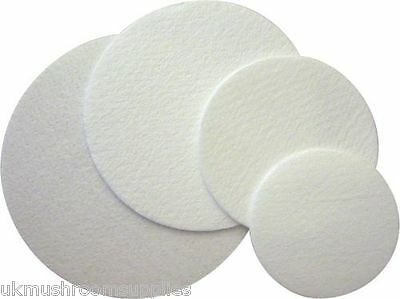 Synthetic filter discs - 0.22μm pore size, 47mm & 90mm - reusable autoclave safe