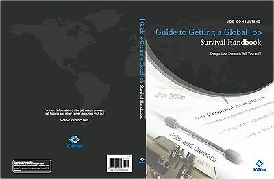 Guide to Getting a Global Job  (Printed Book in English) - Guide Book, Manual