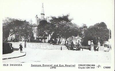 Wales Postcard - Old Swansea - Swansea General and Eye Hospital c1910  2091