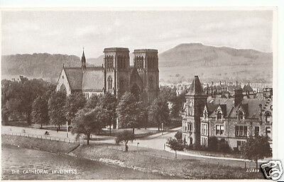 Scotland Postcard - The Cathedral, Inverness H857
