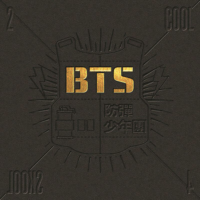 BTS-[2 COOL 4 SKOOL]Single Album CD+PhotoBook+Gift Card Kpop Sealed