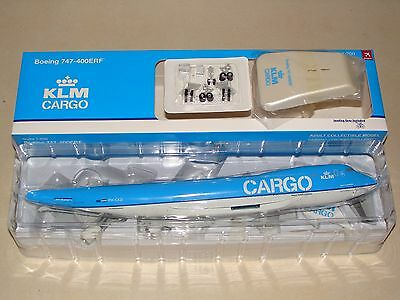 Hogan Wings 200 KLM Cargo B747 -400ERF 1/200 W/ Stand and Gears**Free S&H**