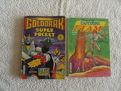 Lot De Bd De Goldorak *capitaine Flam Format Pocket