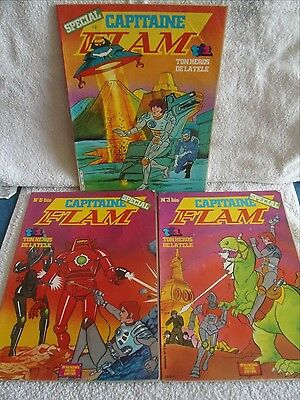Lot De Bd Capitaine Flam