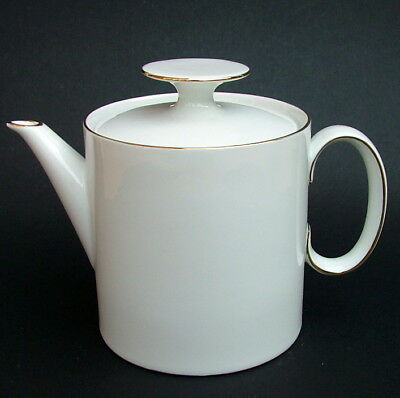 Thomas Medallion Thin Gold Pattern 1.5pt Teapot & Lid 14cmh Looks in VGC