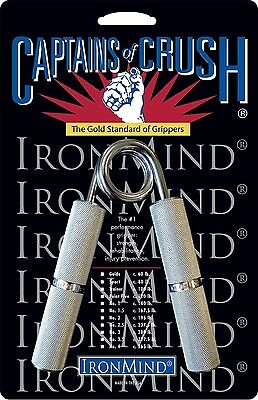 Ironmind Captains of Crush CoC Hand grippers workout 100lb Trainer NEW Gripper