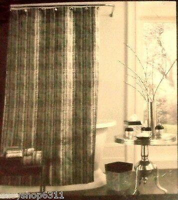 River Brich Solid And J Queen New York Fabric Shower Curtain 72x72