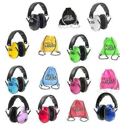 Edz Kidz Infant Kids CHILDREN DEFENDERS NOISE FESTIVALS EAR MUFFS MUSIC SHOWS