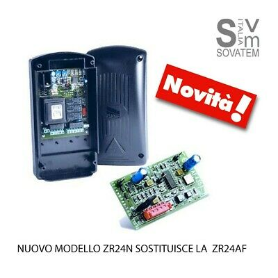 Nuovo Quadro Comando Came Zr24N Con Decodifica Radio Con Scheda Radio Integrata
