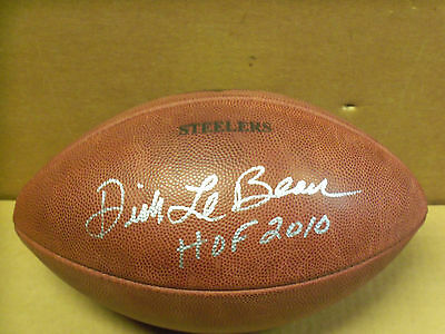 """Pgh Steelers, Dick LeBeau Signed, NFL """"The Duke"""" Football, Goodell, Not USED"""