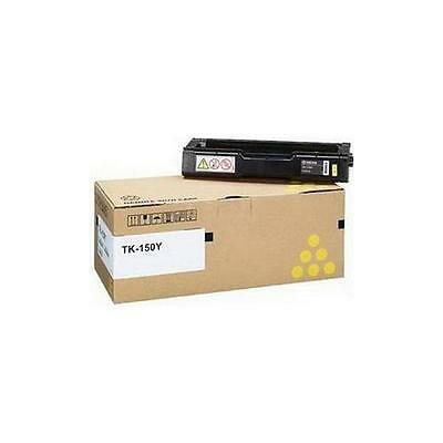 Kyocera Mita TK-150Y Yellow (Yield 6,000 Pages) Toner Cartridge for FS-C1020