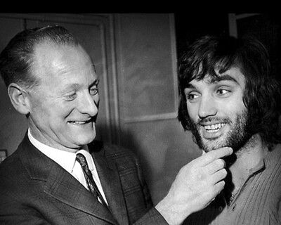 Tom Finney And George Best 03 (Preston North End And Manchester Utd) Photo Print