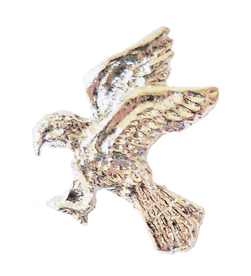 Golden Eagle Nickel-Plated Pin Badge - T772