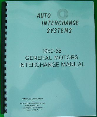 1949 1950 1951 1952 1953 1954 1955 1956 1957 1958 Interchange Manual FORD Truck