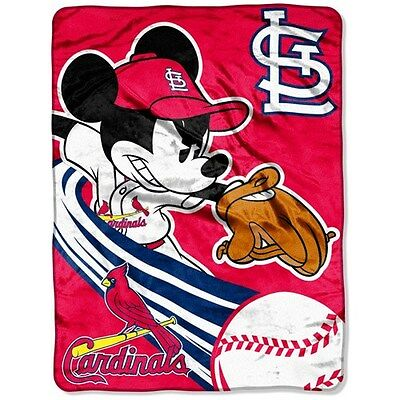 Saint Louis Cardinals Infant Baby Plush Throw Blanket NWT