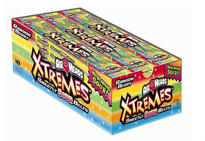 Airheads Xtremes Sour Belts - 18 ct.