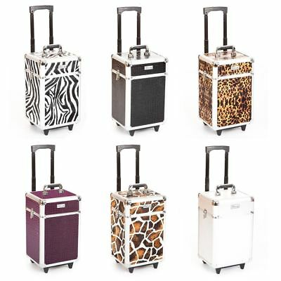 Urbanity mobile beauty hairdressing nail cosmetic makeup trolley case box bag