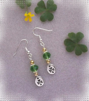 Bit O' Luck ~ Beaded Earring Jewelry Making Step by Step Instruction Kit