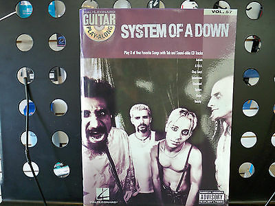 System Of A Down - Guitar Play-Along (Notes & TAB) & Vocal  wCD  HL00699751