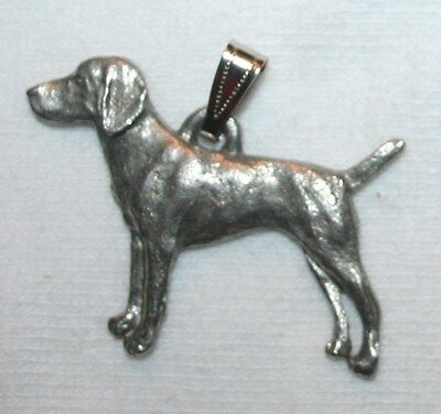 Vizsla Dog Harris Fine Pewter Pendant USA Made
