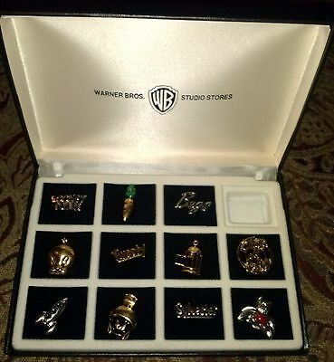 Warner Bros Animation Character Studio Store 1994 boxed pin set 11 collectible