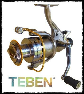 mulinello Teben Aquarius 3000 bait runner pesca fondo carpa barbo ledgering