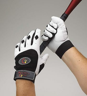 Black/white Ladies Batting Glove Extra Extra Large. New XXL