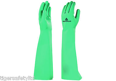 12 Pairs Delta Plus Venitex VE905 Alpha 905 Natural Anti Allergy Rubber Gloves