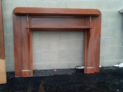 Cherry Fireplace mantle 2 shelf (CMF 2)