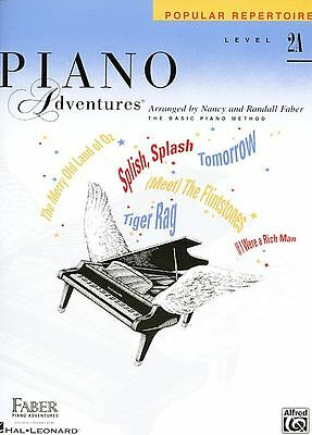 Faber Piano Adventures® Level 2A – Popular Repertoire Book