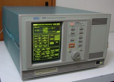 Tektronix 372 100V 1A 100pA Semiconductor Parameter Analyzer