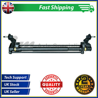 Refurbished Peugeot 306 Hatchback Rear Axle with Drum Brakes NON ABS
