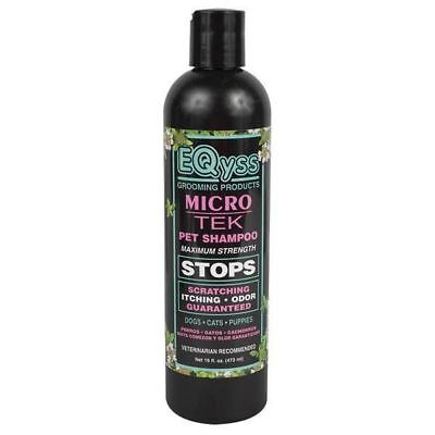Micro-Tek Medicated Stop-Itch Formula Pet Shampoo 16oz Super Concentrated